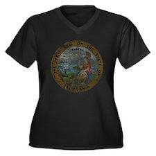 Vintage California Seal Plus Size T-Shirt