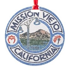 Vintage Mission Viejo Ornament