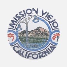Vintage Mission Viejo Ornament (Round)