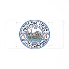 Vintage Mission Viejo Aluminum License Plate