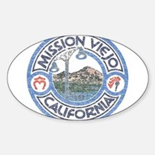 Vintage Mission Viejo Decal