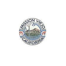 Vintage Mission Viejo Mini Button