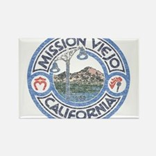 Vintage Mission Viejo Rectangle Magnet