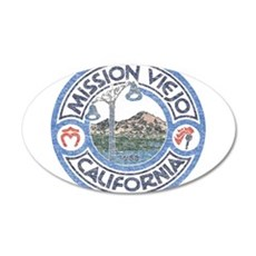 Vintage Mission Viejo Wall Decal