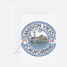 Vintage Mission Viejo Greeting Card