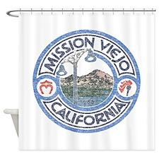 Vintage Mission Viejo Shower Curtain