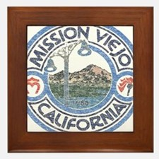 Vintage Mission Viejo Framed Tile