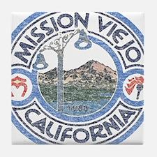 Vintage Mission Viejo Tile Coaster