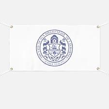 Vintage San Diego Seal Banner