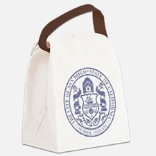 Vintage San Diego Seal Canvas Lunch Bag