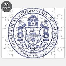 Vintage San Diego Seal Puzzle