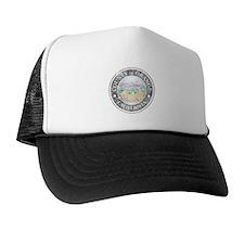 Faded Orange County Trucker Hat