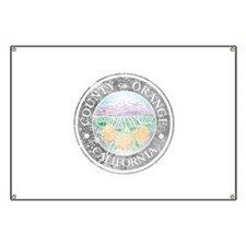 Faded Orange County Banner