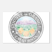 Faded Orange County Postcards (Package of 8)