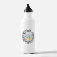 Faded Orange County Water Bottle