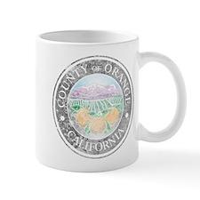 Faded Orange County Mug