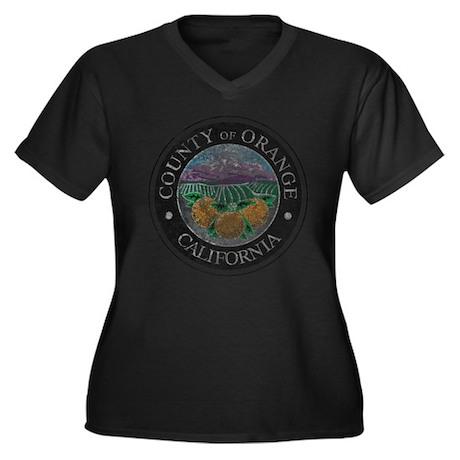 Faded Orange County Plus Size T-Shirt
