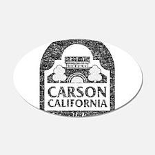 Vintage Carson California Wall Decal