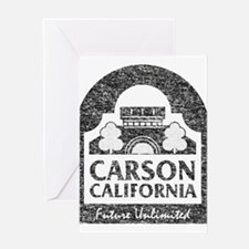 Vintage Carson California Greeting Card