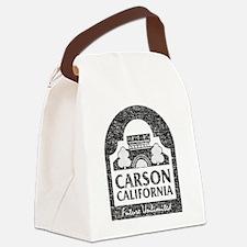 Vintage Carson California Canvas Lunch Bag