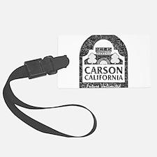 Vintage Carson California Luggage Tag