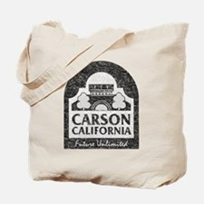 Vintage Carson California Tote Bag