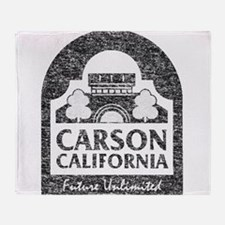 Vintage Carson California Throw Blanket