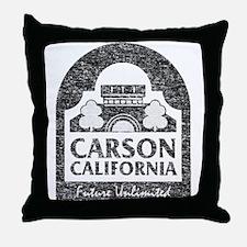 Vintage Carson California Throw Pillow