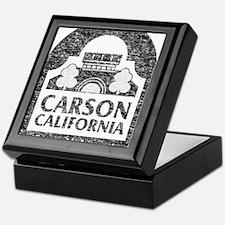 Vintage Carson California Keepsake Box
