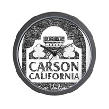 Vintage Carson California Wall Clock