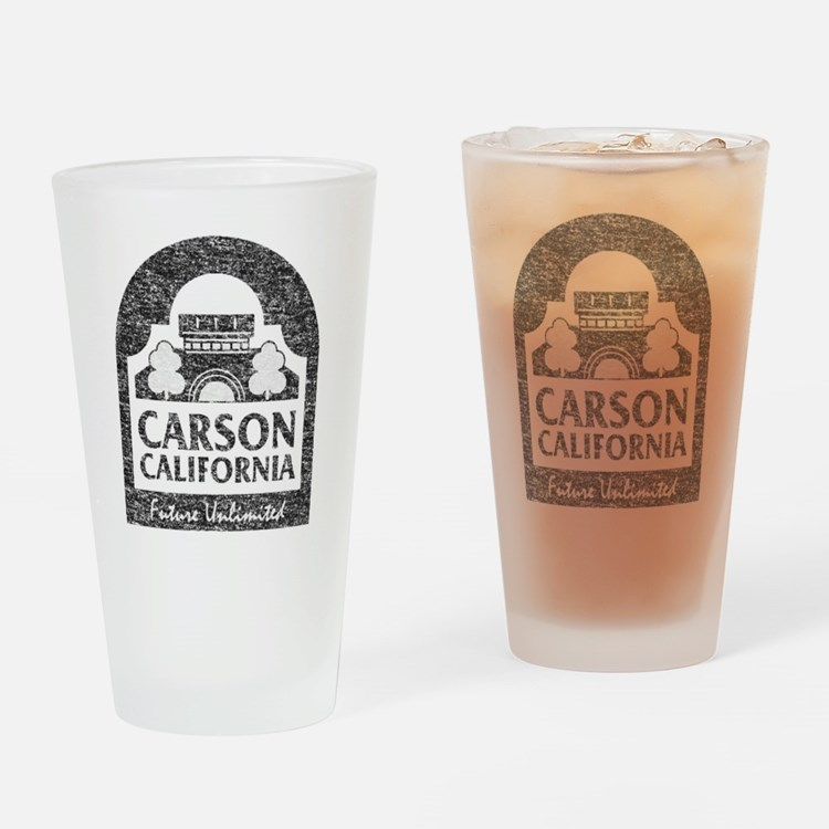 Vintage Carson California Drinking Glass
