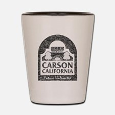 Vintage Carson California Shot Glass