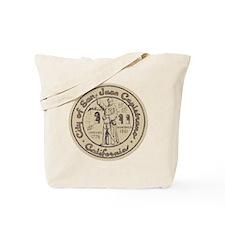 Vintage San Juan Capistrano Tote Bag
