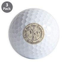 Vintage San Juan Capistrano Golf Ball