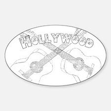 Hollywood Guitars Decal