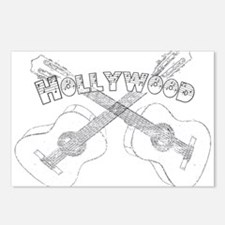 Hollywood Guitars Postcards (Package of 8)