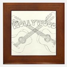 Hollywood Guitars Framed Tile