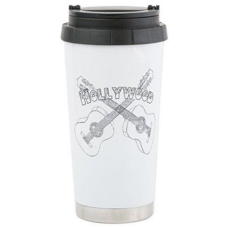 Hollywood Guitars Travel Mug