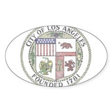 Vintage City of LA Decal