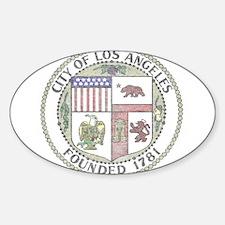 Vintage City of LA Decal