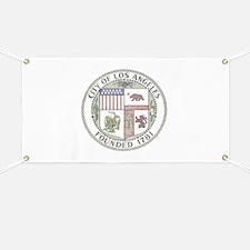 Vintage City of LA Banner