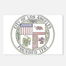 Vintage City of LA Postcards (Package of 8)