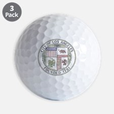 Vintage City of LA Golf Ball