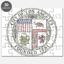 Vintage City of LA Puzzle