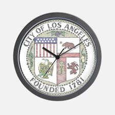 Vintage City of LA Wall Clock