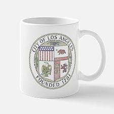 Vintage City of LA Mug