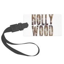 Hollywood Stars and Coffee Luggage Tag