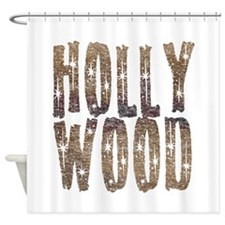 Hollywood Stars and Coffee Shower Curtain