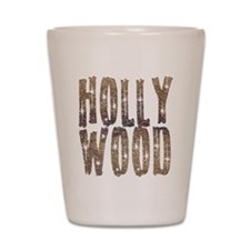 Hollywood Stars and Coffee Shot Glass
