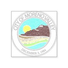 Vintage Moreno Valley Sticker
